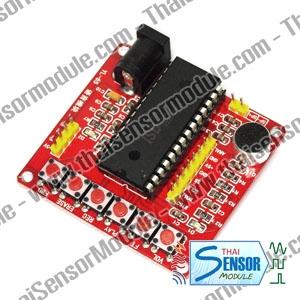 โมดูลบันทึกเสียงแบบหลายแทรค รวม 60 วินาที โดยใช้ชิพ ISD1760