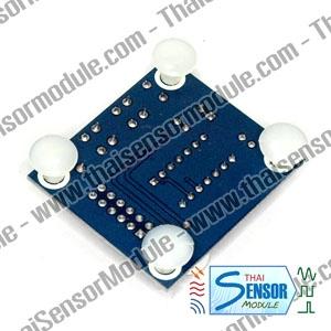 โมดูลบันทึกเสียงแบบแทรคเดียว 20 วินาที โดยใช้ชิพ ISD1820 (สินค้าหมดชั่วคราว)