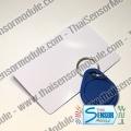 โมดูล RFID reader (13.56 MHz) พร้อมบัตร RFID และพวงกุญแจ RFID สื่อสารผ่านมาตราฐาน SPI