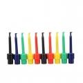 ตะขอสปริงสำหรับวัดสัญญาณทางไฟฟ้า ขนาดใหญ่ (ชุดละ 5 ตัว 5 สี)